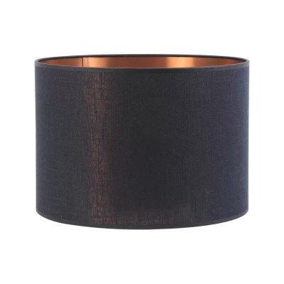 Extra Small Metallico Cylinder Textile Shade