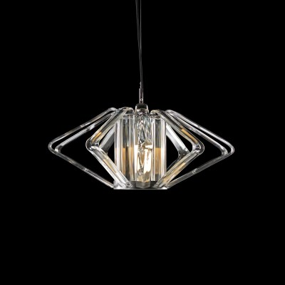 Basik Columba Crystal Pendant Clear