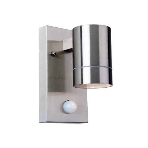 Stainless Steel PIR Wall Light