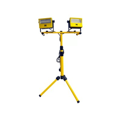 60W Mains Twin LED Work Light w/ Tripod