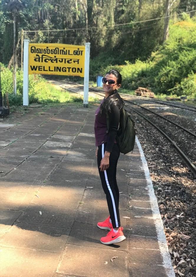 Wellington railway station hike