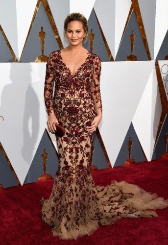 88th+Annual+Academy+Awards+Arrivals+chrissy teigen marches