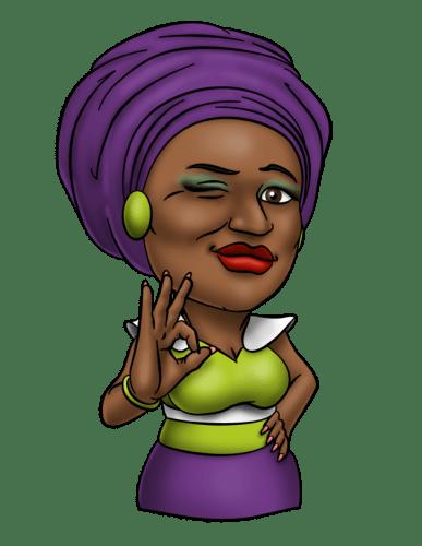 afro emoji7