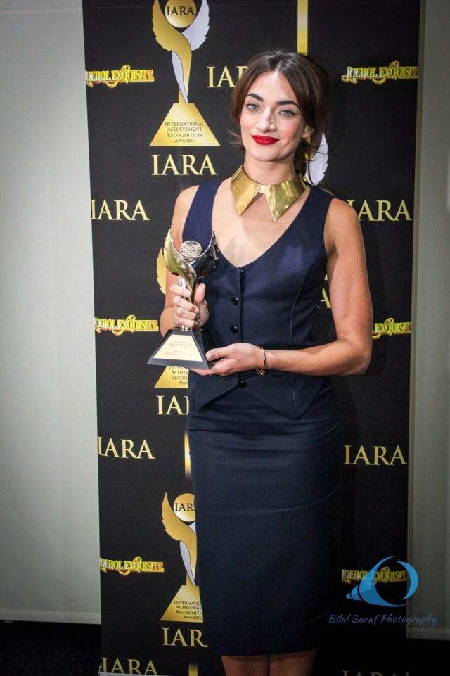 Anabel Kutay winner of Best Emerging Actress 2016