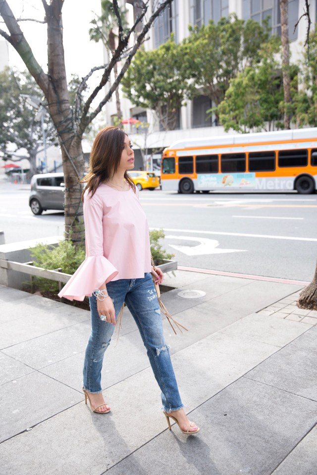 bell sleeves for spring