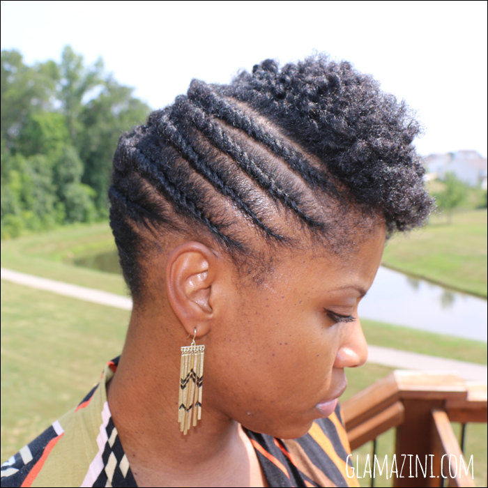 Twisted Hairstyles For Short Natural Hair Page 1