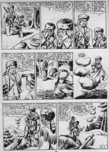 """Fig. 4: seconda tavola del primo numero de """"Il grande Blek"""""""