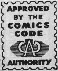 Il famigerato marchio del Comics Code