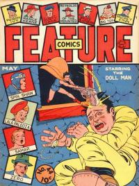 Feature Comics #44 con Dollman