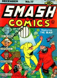 Smash Comics #17 con The ray