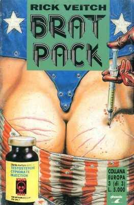Copertina del n. 3 della miniserie Bratpack