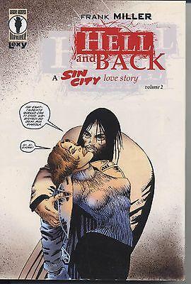 Copertina del volume #2 di SIN CITY HELL AND BACK. Lexy Produzioni