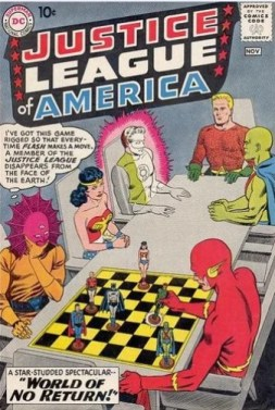 1) The World of No Return! (Fox/Sekowsky) (11/60- Protagonista Justice League)