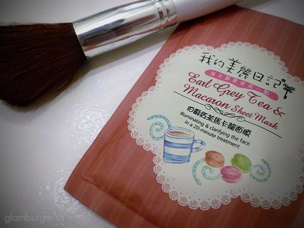 My Beauty Diary Earl Grey Tea & Macaron Sheet Mask