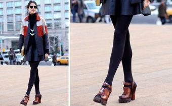 looks com meia-calça para você se inspirar e arrasar!