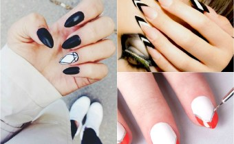 Nail art: stiletto