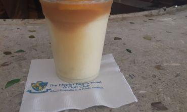 Vacation drink pina colada