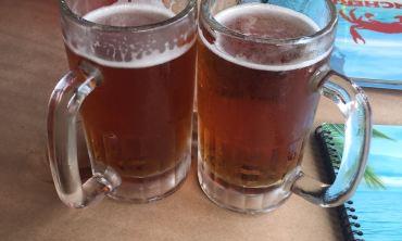 Vacation drink beer
