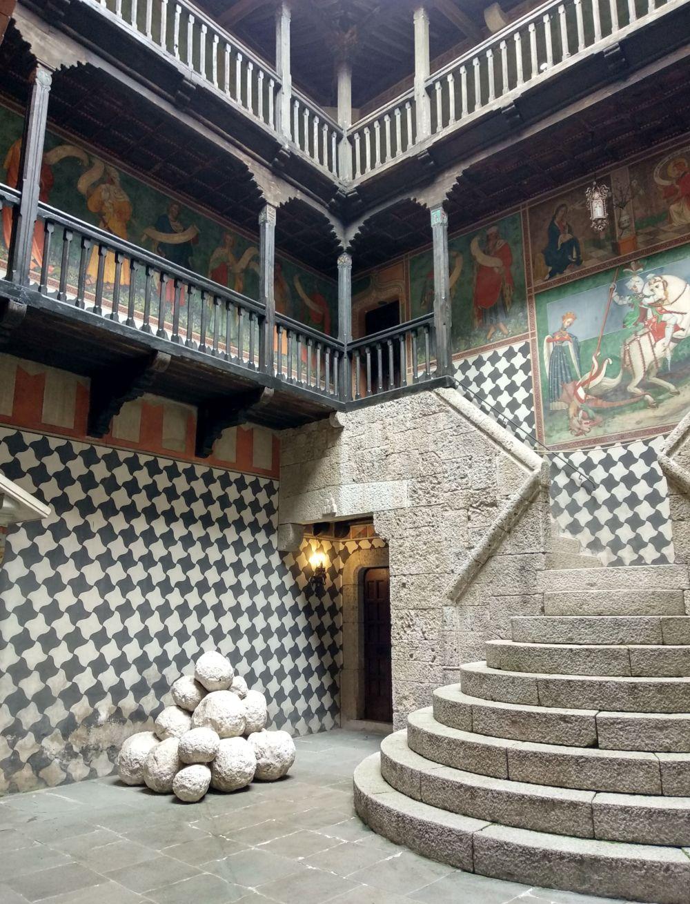Castello di Montichiari interni