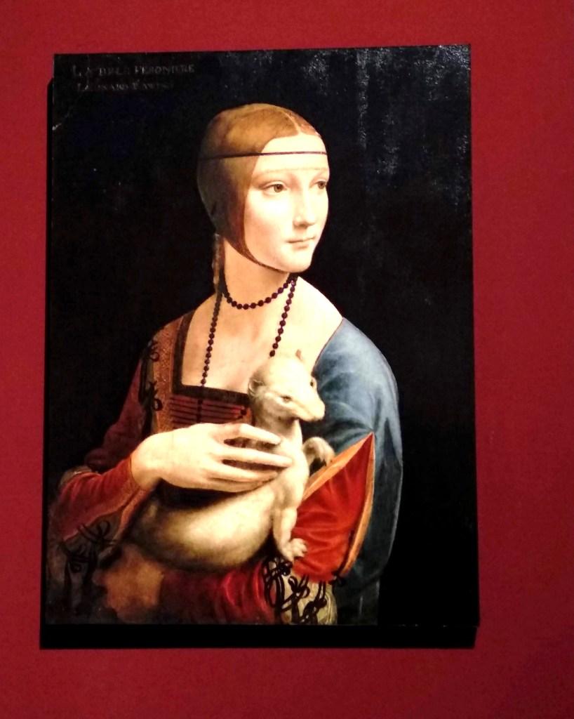 Dama con ermellino a Vinci