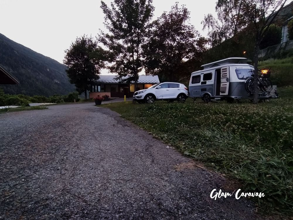 Camping in Savoia