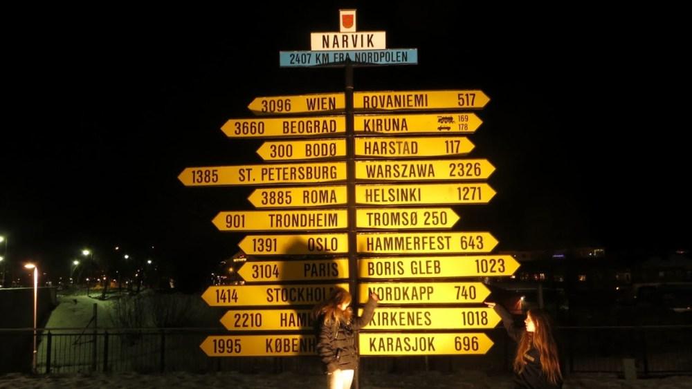 Cartelli distanze Lapponia