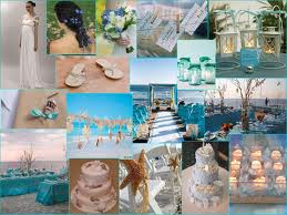 matrimonio in azzurro collage