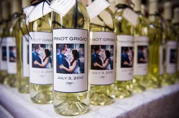 bomboniera vino personalizzata