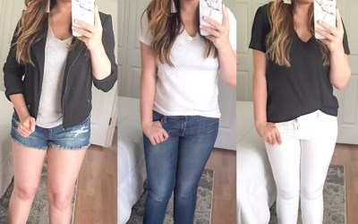 How to Style Basic Tees This Summer