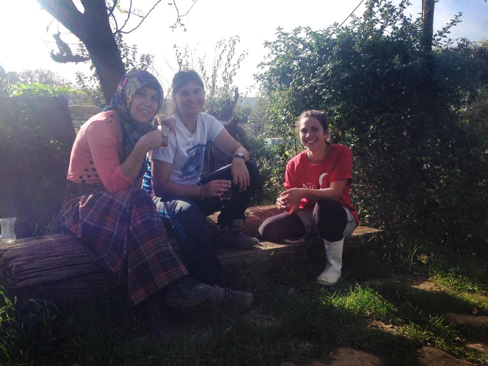 Some amazing WWOOF volunteers I met in Turkey!