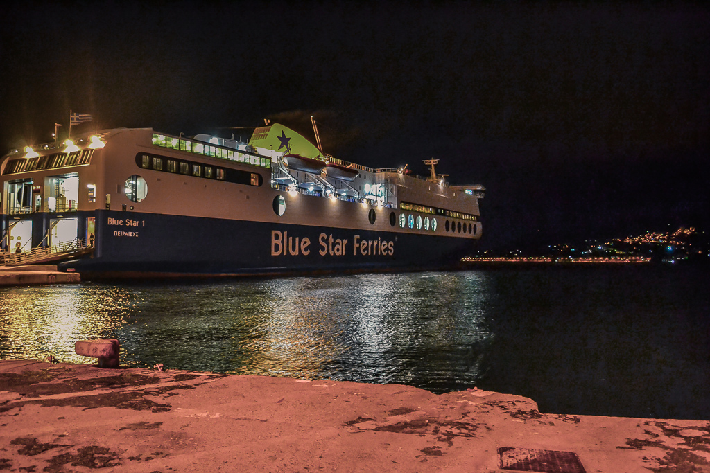 Greek ferry boat