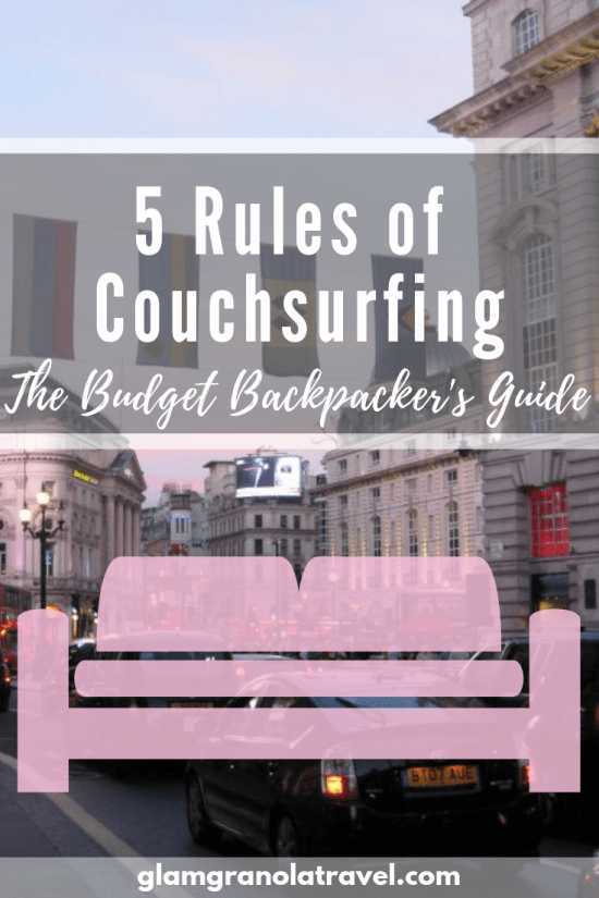5 Rules of Couchsurfing | Glam Granola Travel