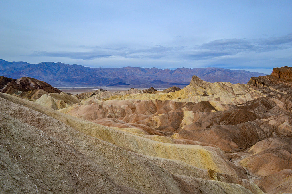 One Day in Death Valley National Park | Zabriskie Point