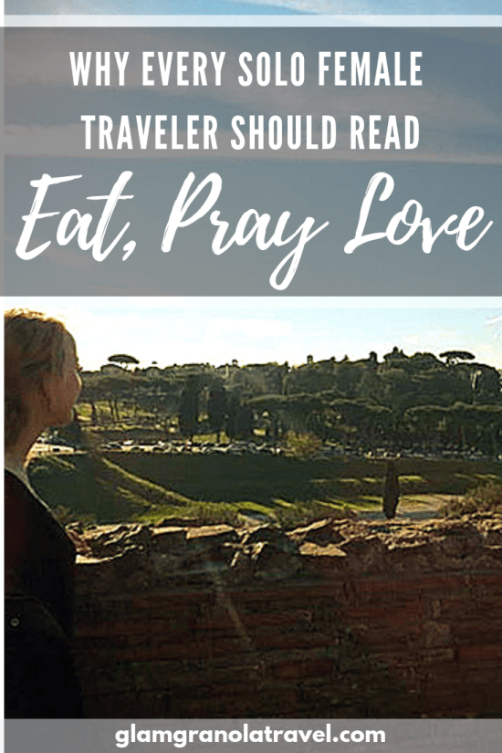 During a difficult time, books can give us much-needed perspective. Travel is a deeply important part of my life, and Liz Gilbert\'s Eat, Pray, Love helped me fall in love with it again. Here\'s more on why this book should be required reading for solo female backpackers ;)