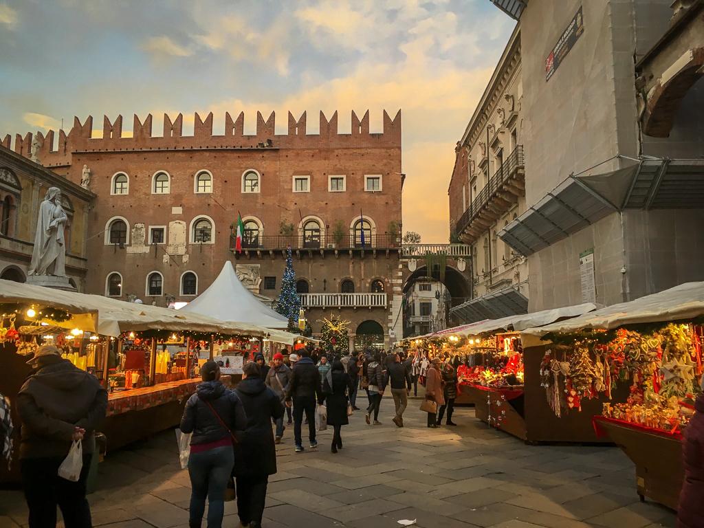 The Verona Christmas market | 10 Day Italy Itinerary