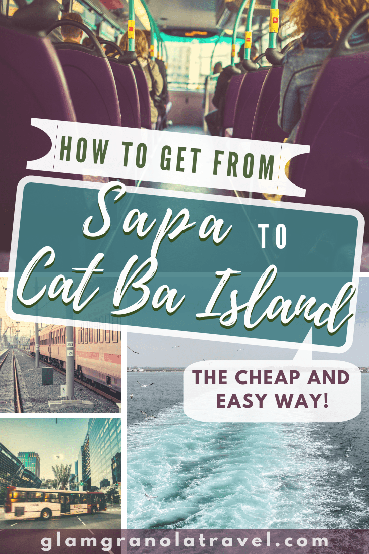 A tried-and-true guide to all the best bus companies and budget options for traveling from Sapa to Cat Ba Island (or Cat Ba Island to Sapa)! I have traveled this route several times and know how to make your journey almost as amazing as your destinations! If you\'re backpacking Vietnam, chances are you\'ll want to travel from Sapa to Cat Ba, so check it out! #Sapa #CatBa #CatBaisland #Vietnam #backpacking