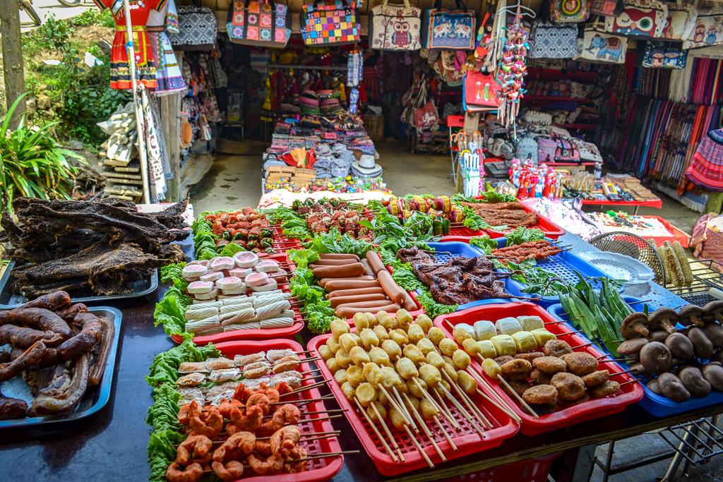 Northern Vietnam Street Food stand
