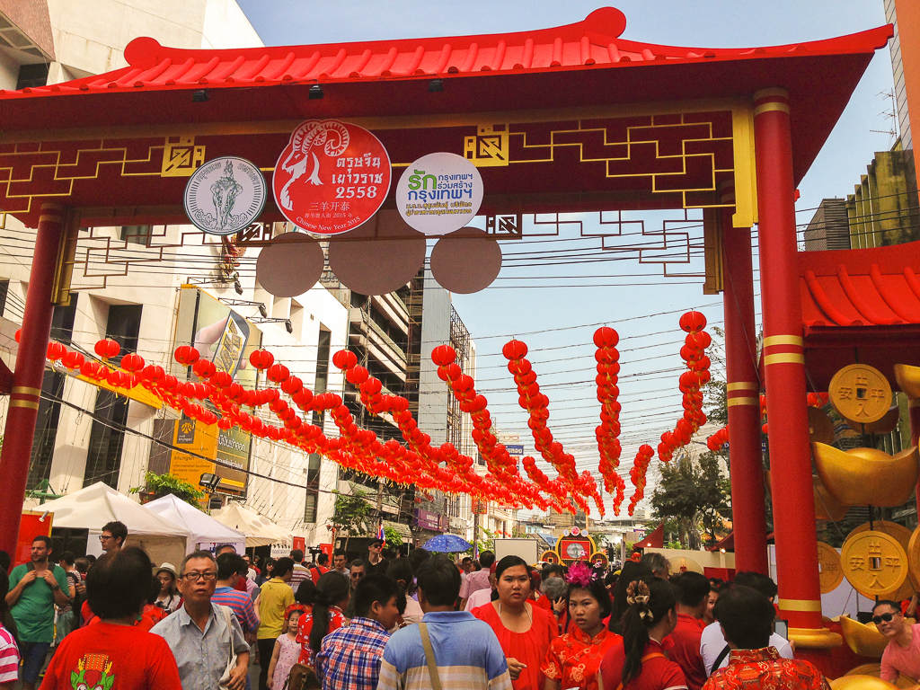Celebrating Chinese New Year in Bangkok's Chinatown