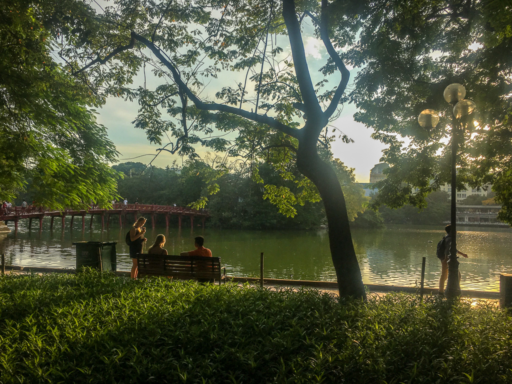 3 Week Vietnam Itinerary - Hoan Kiem Lake
