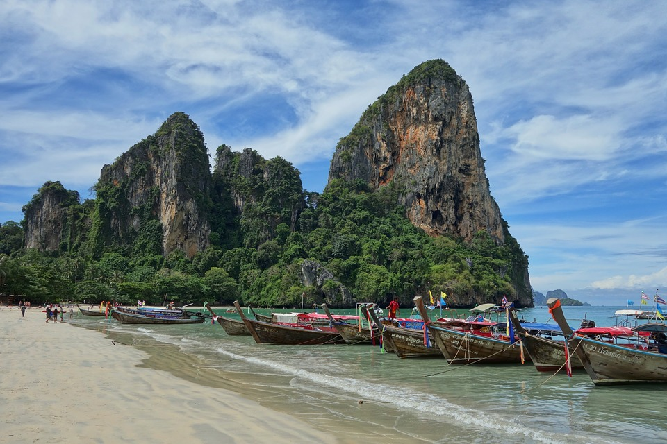 Railay Beach — 10 Day Thailand Itinerary for Adventurous Budget Backpackers and Solo Travelers