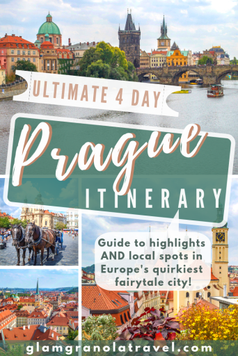 4 Day Prague Itinerary Pin Image