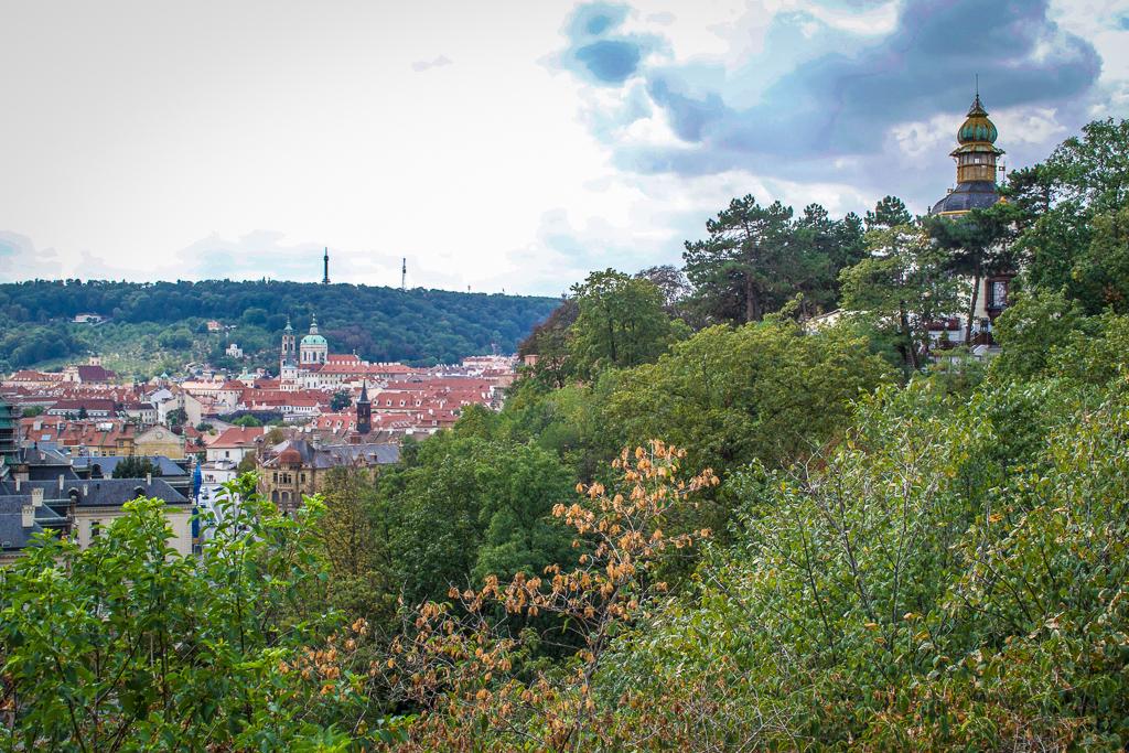 Hanavsky Pavillion in Letna Park on your 4 Day Prague itinerary