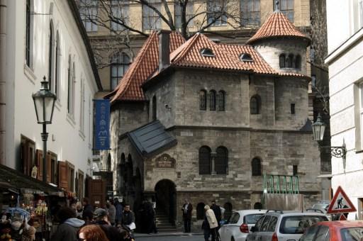 Part of the Jewish Museum in Prague