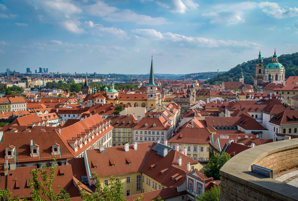 Mala Strana from the Prague Castle