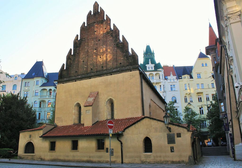Old-New Synagogue in Prague's Old Town - a must-see with 4 days in Prague