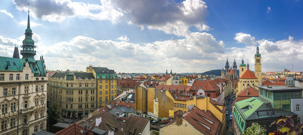 Prague panorama for 4 days in Prague