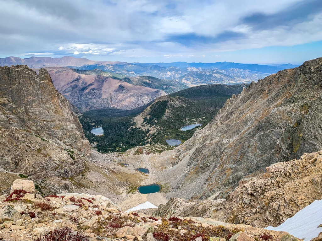 The Continental Divide at Flattop Mountain, Rocky Mountain National Park