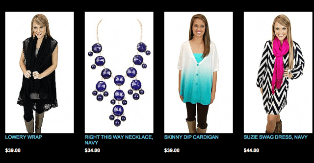Blue Door Boutique Items