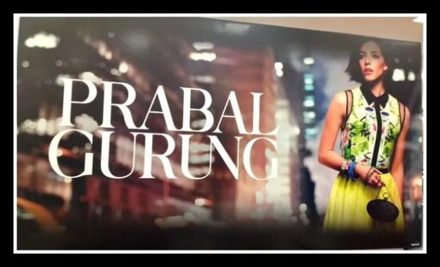 Prabal GurungSign