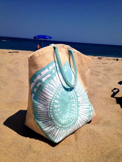 2 Chic: beach bag